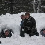 snow,family,fun,Northwoods,Christmas Eve