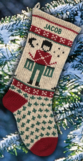 Toy Drummer Personalized Christmas Stocking