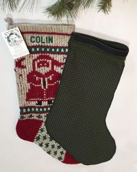 Cotton Christmas Stocking Liner