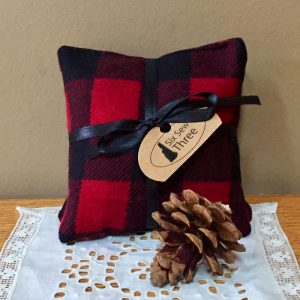 Red Buffalo Plaid Sachet