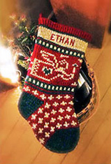 Baby Angel Personalized Christmas Stockings