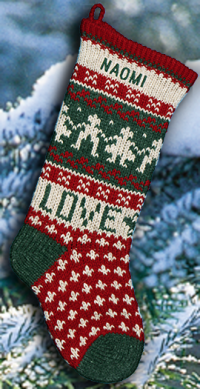LOVE Personalized Christmas Stocking