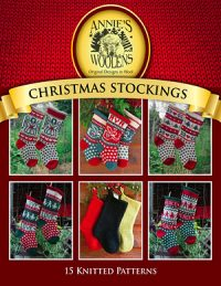 eBook - 15 Knitted Christmas Stocking Patterns