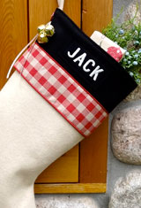 Lodge Personalized Christmas Stockings