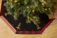 Christmas Tree Skirt - Black