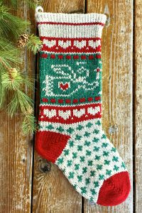 Candlelit Angel Christmas Stocking Kits and Pattern