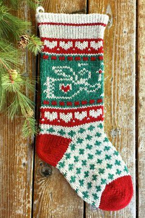 Candlelit Angel Christmas Stocking Kits and Pattern