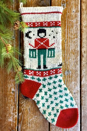 Toy Drummer Christmas Stocking Kits and Pattern