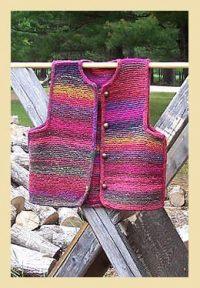 Garter Stitch Vest Pattern