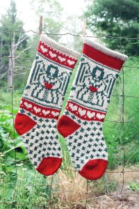 Angel Christmas Stocking Kits and Patterns