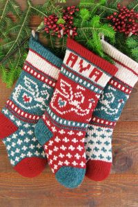 Baby Angel Christmas Stocking Kits and Pattern