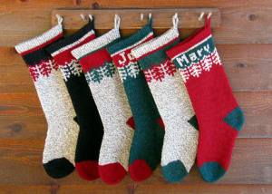 Ragg Wool Christmas Stocking Yarn Packs for knitting