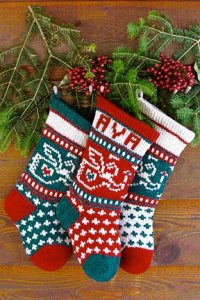 Baby Angel Christmas Stocking Yarn Pack