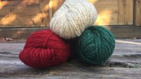 Worsted Wool Skeins for Hand Knitting