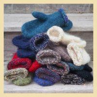 Mohair Mittens Knitting Pattern