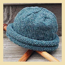 double roll storm hat pattern
