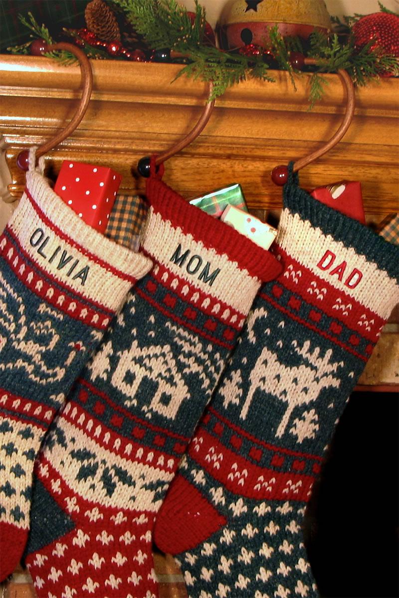 Christmas Stocking.Sock Hook Christmas Stocking Hangers