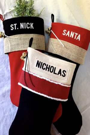 Group Personalized Lodge Christmas Stockings